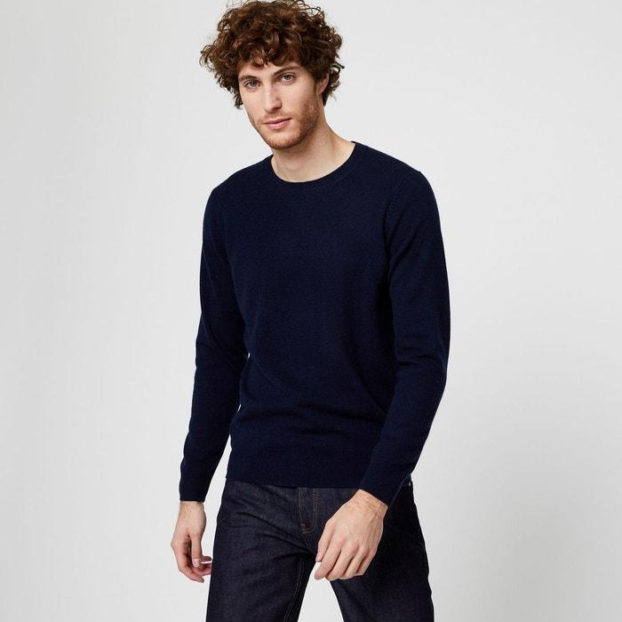 gamme exceptionnelle de styles les ventes en gros vraie qualité Pull col rond laine et cachemire