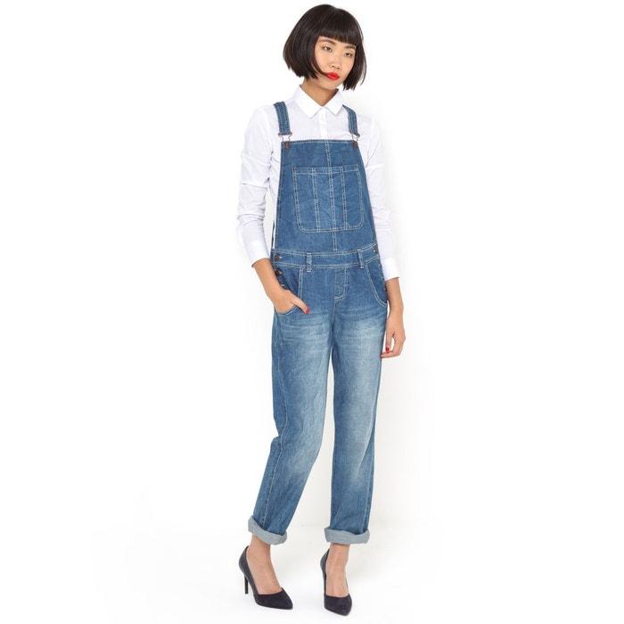 Salopette en jean pur coton R essentiel