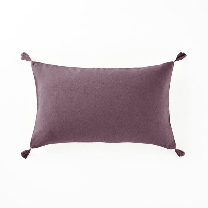 Capa de almofada em linho e viscose, Odorie La Redoute Interieurs