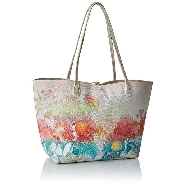 3c152b82ec Cabas / sacs shopping synthétique beige Desigual | La Redoute