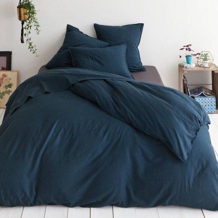 housse de couette eternity navy navy harmony la redoute. Black Bedroom Furniture Sets. Home Design Ideas