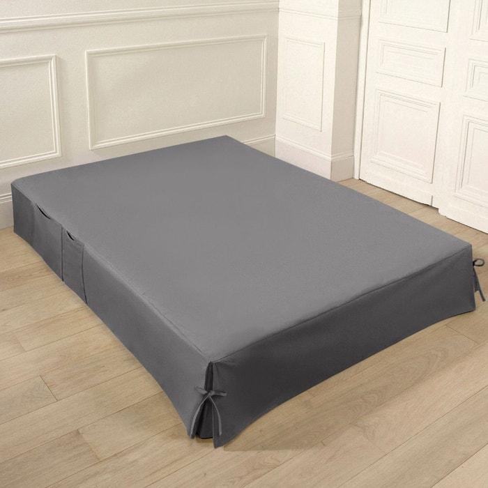 cache sommier 140 190. Black Bedroom Furniture Sets. Home Design Ideas