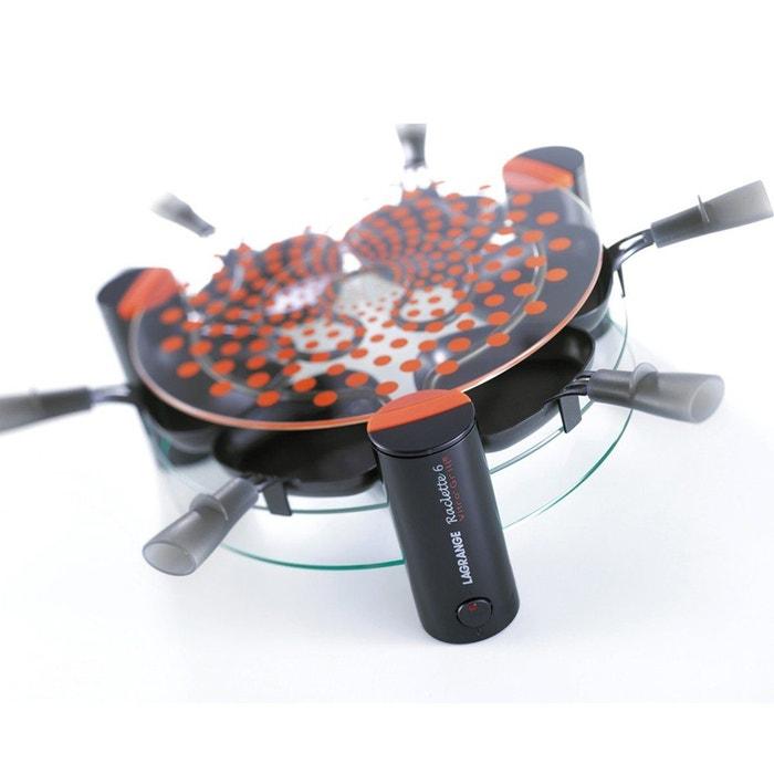 raclette 6 vitro grill pour 6 personnes transparent lagrange la redoute. Black Bedroom Furniture Sets. Home Design Ideas
