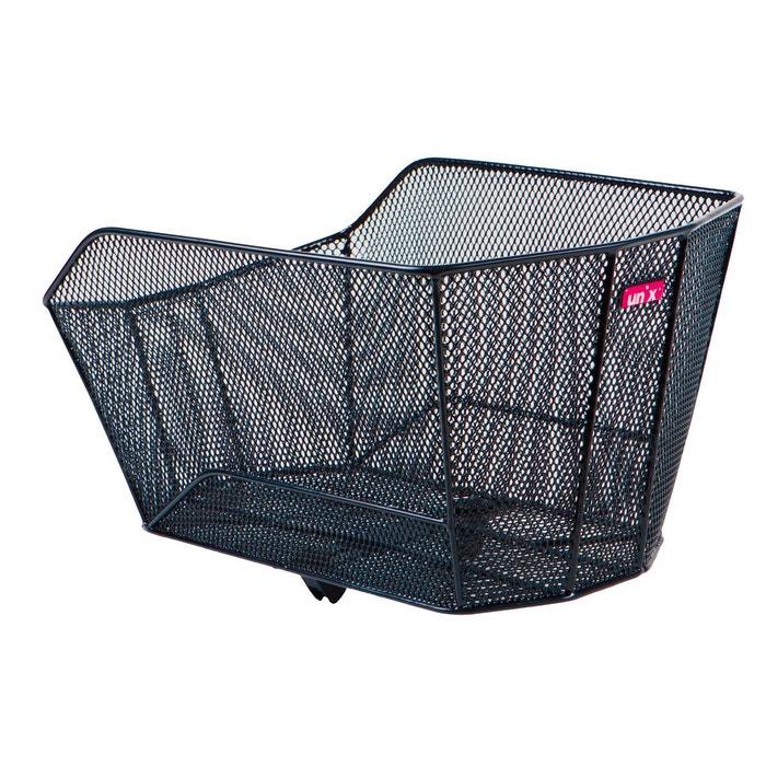 vitario panier de v lo noir noir unix la redoute. Black Bedroom Furniture Sets. Home Design Ideas