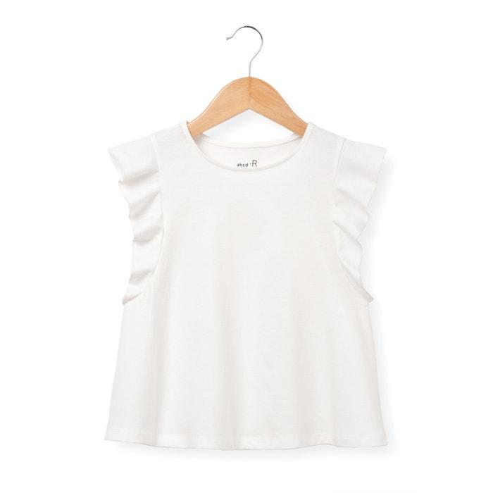 Imagen de Camiseta de mangas con volantes 3-12 años abcd'R
