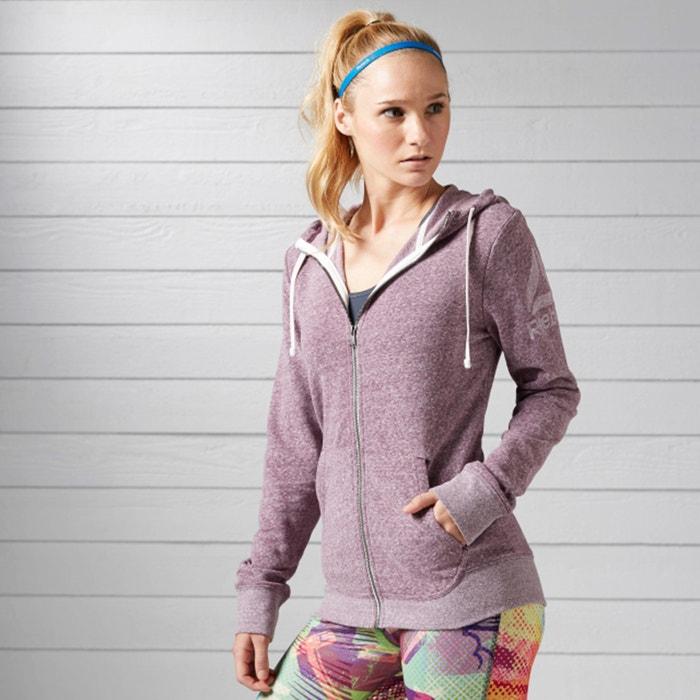 afbeelding Sweater met rits en kap REEBOK