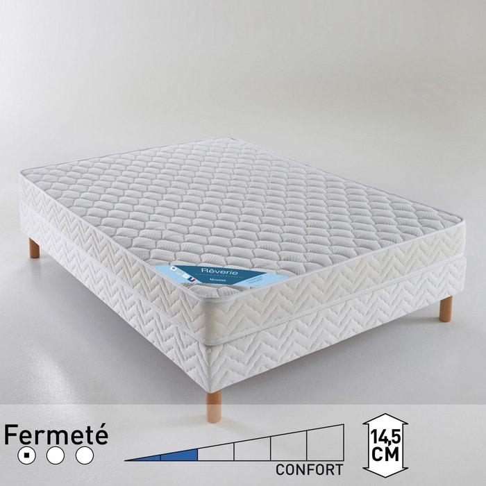 matelas mousse confort dynamique quilibr blanc reverie la redoute. Black Bedroom Furniture Sets. Home Design Ideas