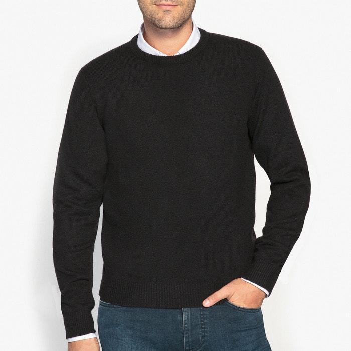 фото Пуловер с круглым вырезом,  100% овечьей шерсти La Redoute Collections