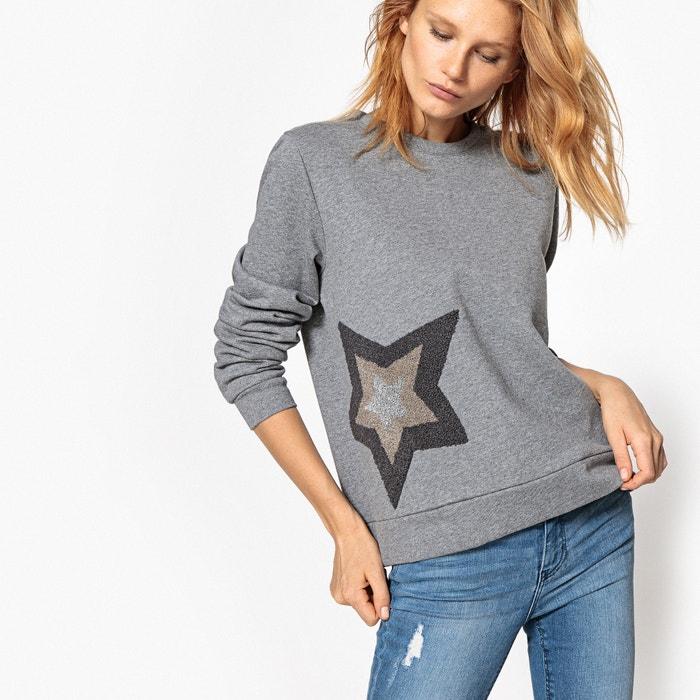 afbeelding Sweater met sterren in reliëf La Redoute Collections