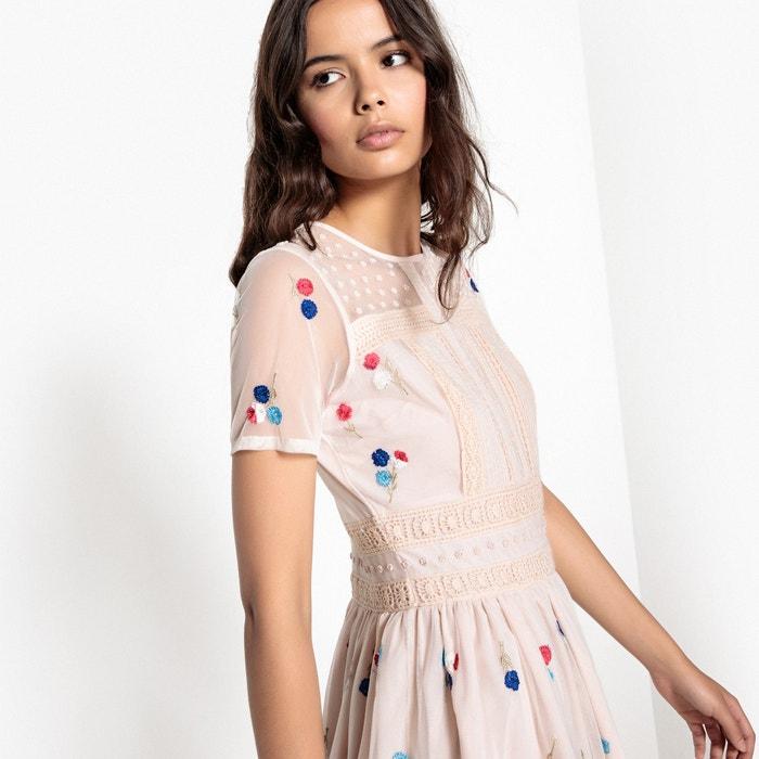 Vestido tul bordado de Redoute Collections La 6wq0pOw