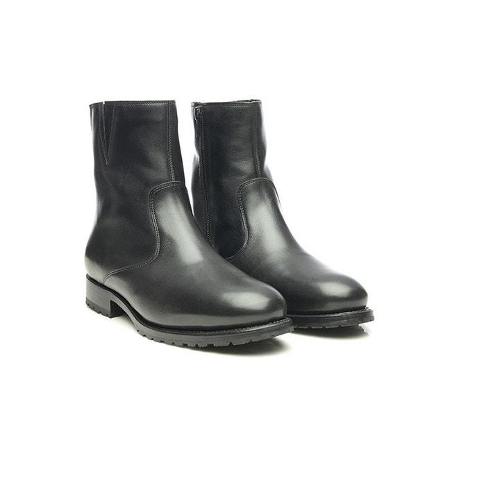 Loafer en velours gris clair noir Shoepassion Prix Pas Cher Offre BNnUpgl8
