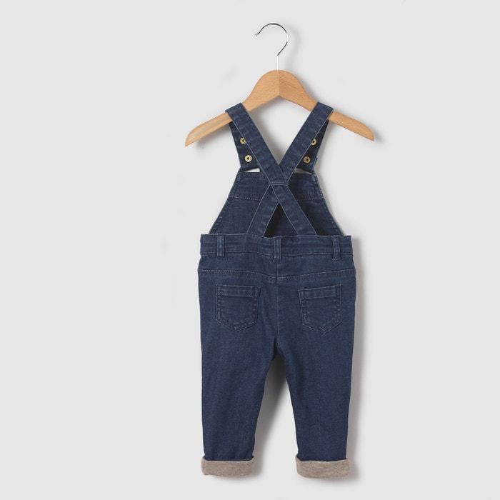 Image Salopette en jean 1 mois-3 ans La Redoute Collections