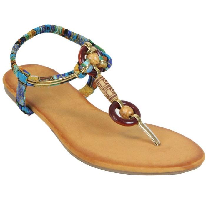 Sandales 5560 bleu Kebello