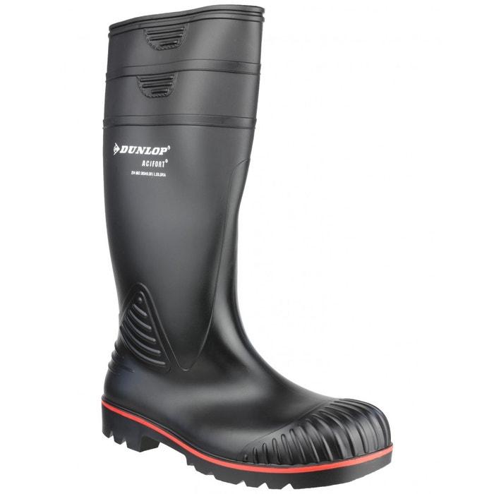 Dunlop acifort - bottes de sécurité - adulte unisexe  noir Dunlop  La Redoute