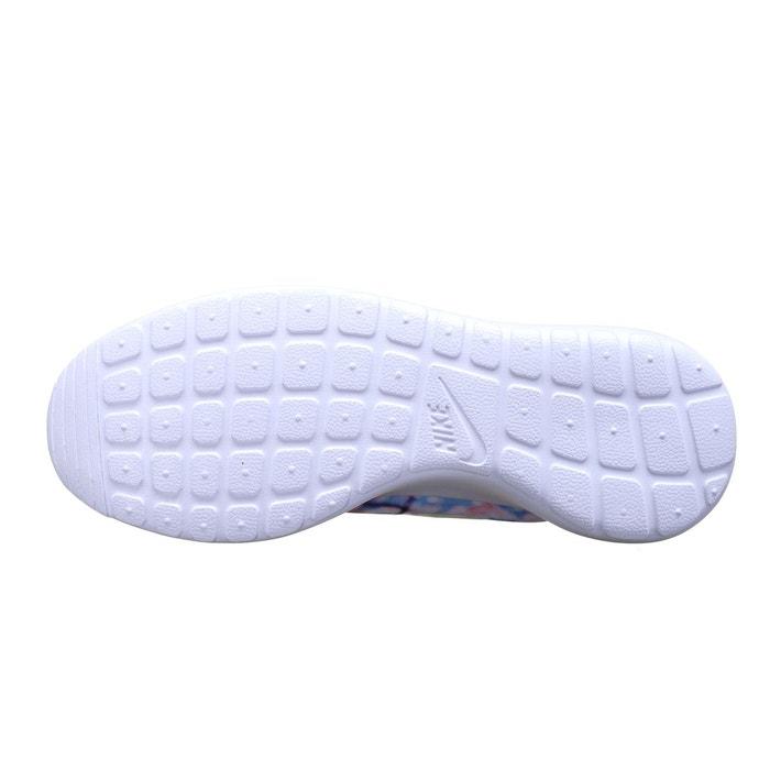 Basket nike roshe run cherry blossom - ref. 819960-100 bleu Nike