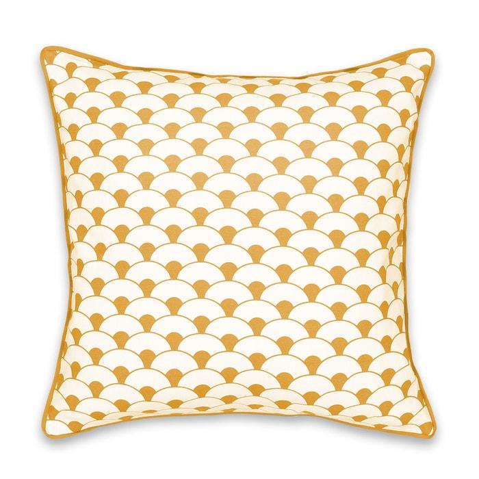 Image Écaille Cotton Cushion Cover La Redoute Interieurs