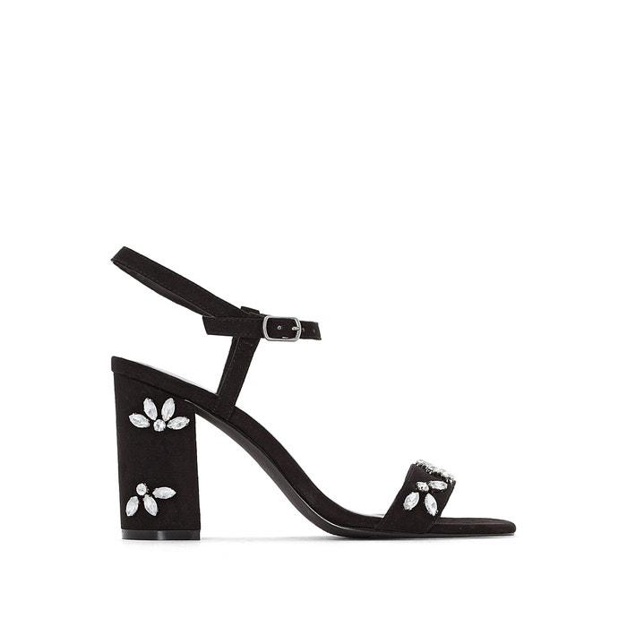 Jewel Detail Sandals  La Redoute Collections image 0
