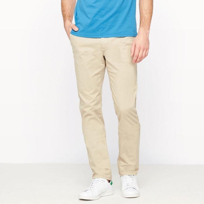 Pantalon chino coupe droite R essentiel