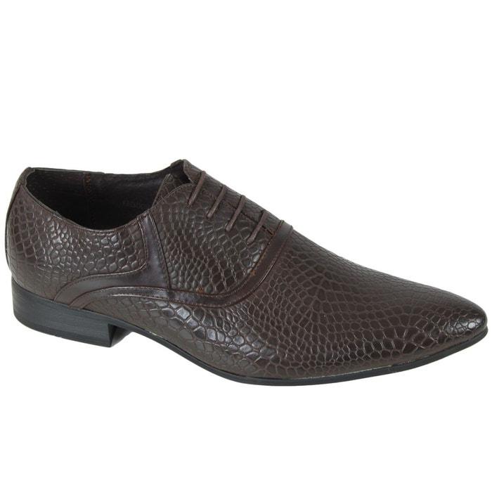 chaussure gh3008 marron kebello la redoute. Black Bedroom Furniture Sets. Home Design Ideas