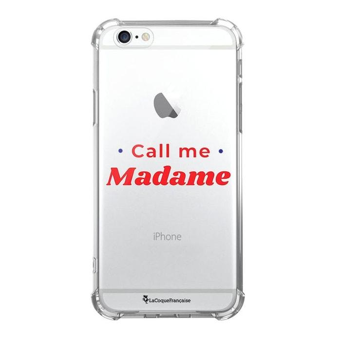 coque iphone 6s silicone transparente