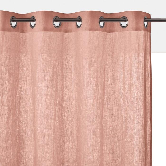 rideau lin lav oeillets onega la redoute interieurs la. Black Bedroom Furniture Sets. Home Design Ideas