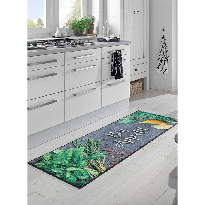 tapis bonapeti kt gris tapis cuisine 60 x 180 cm couleur unique un amour de tapis la redoute. Black Bedroom Furniture Sets. Home Design Ideas
