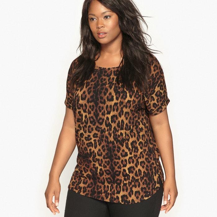 Image Leopard Print T-Shirt CASTALUNA