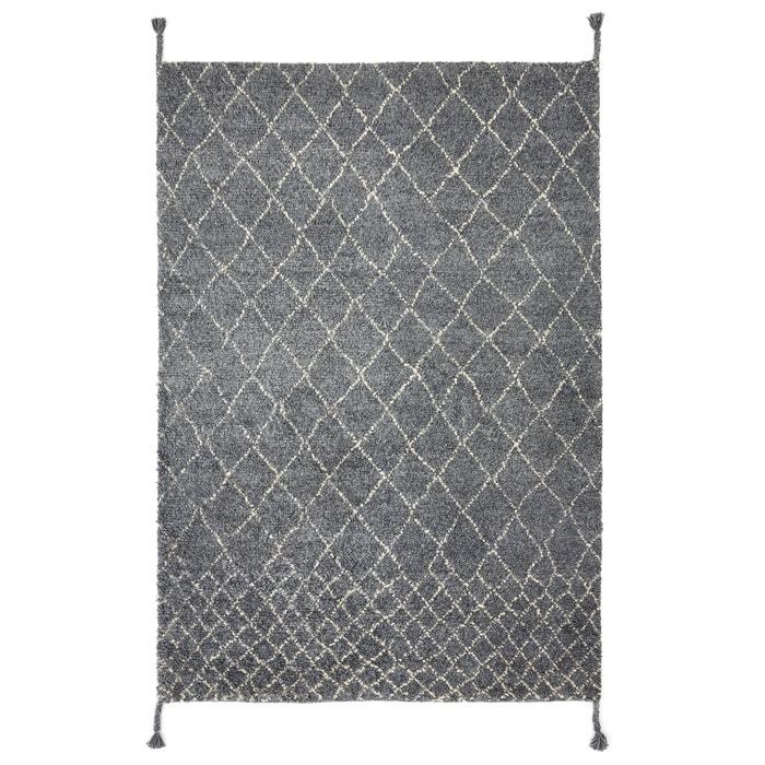 tapis style berb re en laine tekouma am pm gris cru la redoute. Black Bedroom Furniture Sets. Home Design Ideas