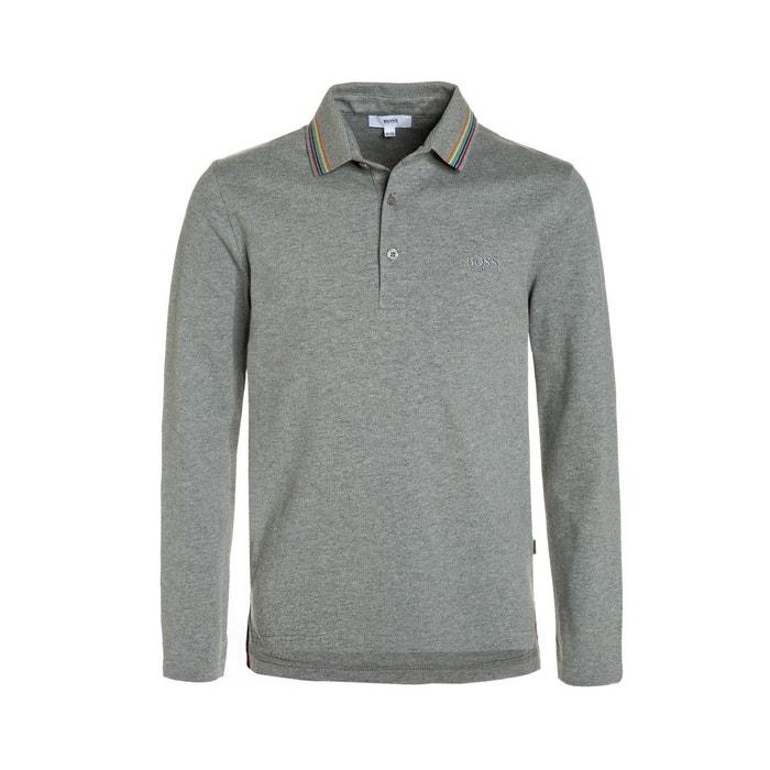 7a7e682b010 Polo junior coton gris Hugo Boss