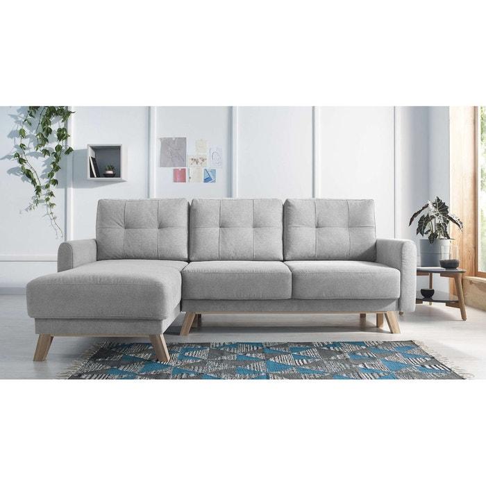 canap d 39 angle gauche convertible balio bobochic la redoute. Black Bedroom Furniture Sets. Home Design Ideas