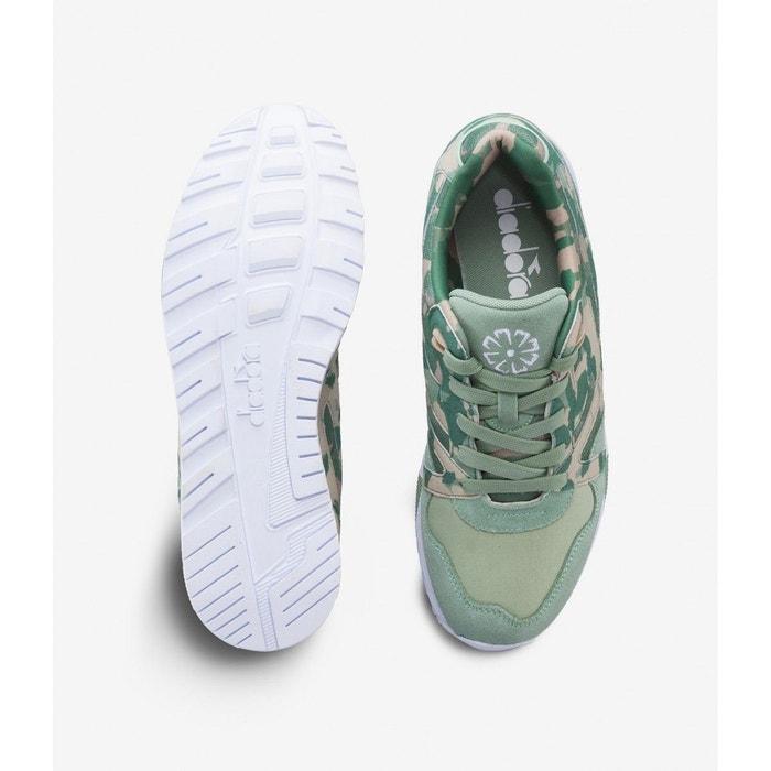 Baskets diadora n9000 camo khaki - sh501.171821 vert Diadora