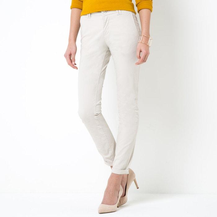 afbeelding Chino broek in stretch katoen R essentiel