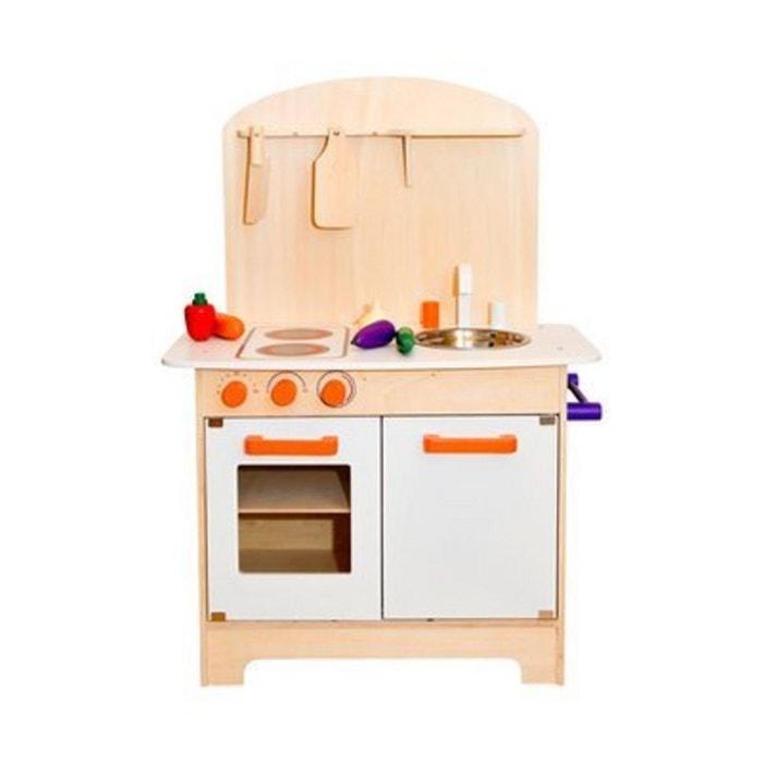 Baby walz la cuisine en bois picerie enfant naturel baby - Cuisine bois pour enfant ...