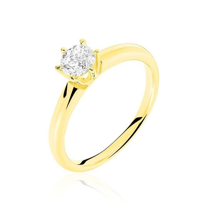 Solitaire or jaune et diamant jaune Histoire D'or | La Redoute Moins Cher En Ligne qJWHpmtlmc