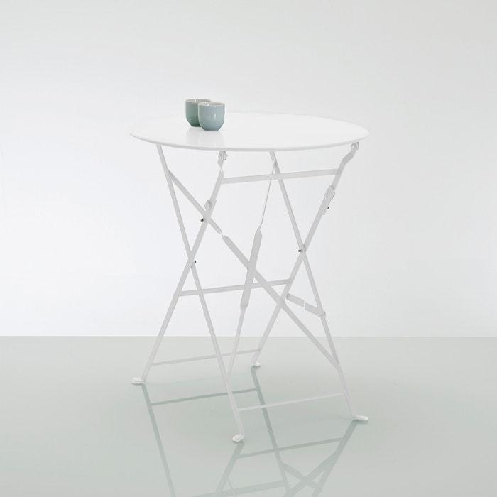 Velador mesa plegable de metal ozevan la redoute - Velador plegable ...