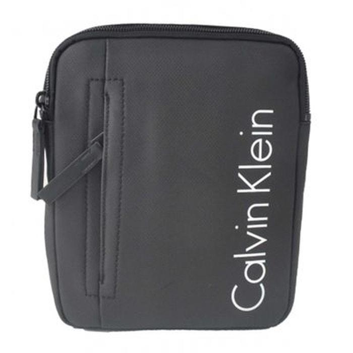 386bd755ae0 Sacoche homme noir Calvin Klein Jeans