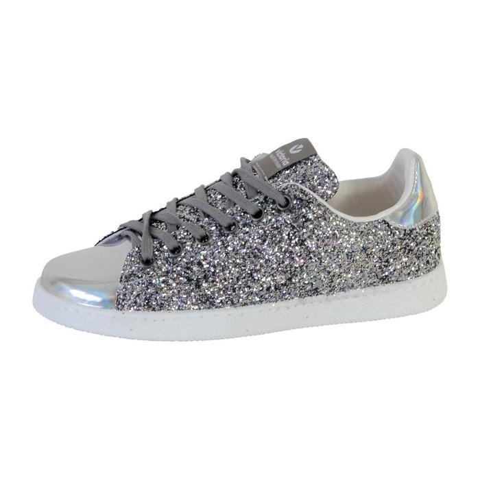 Chaussures deportivo basket glitter plata gris Victoria Réduction Avec Paypal Faible Frais D'expédition Vente Discount Sortie Vente Pas Cher Trouver Une Grande xtUK53