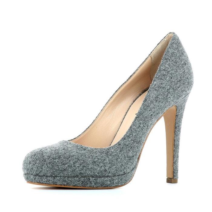Escarpins femme gris Evita