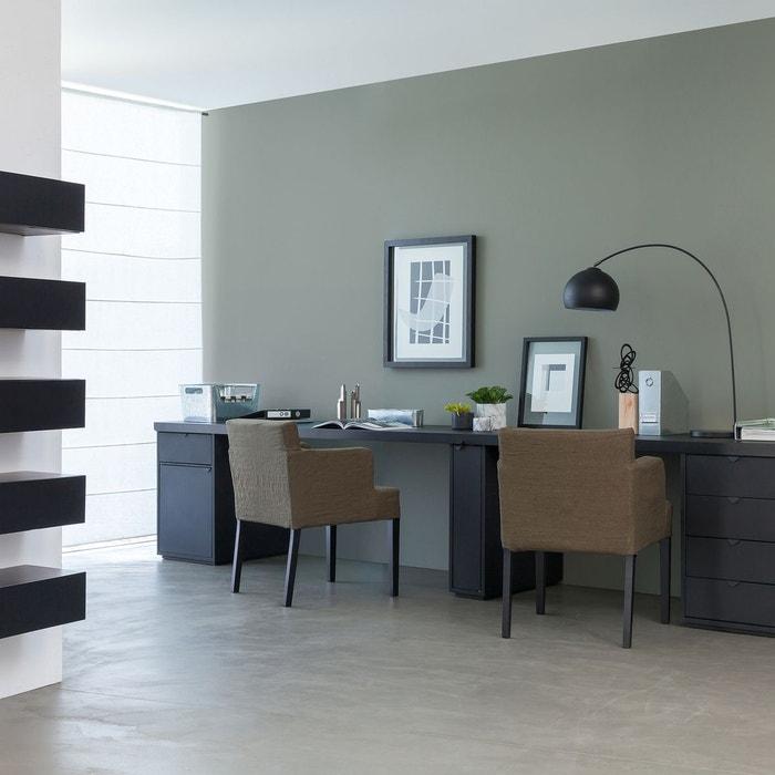 plateau de bureau en m tal angus taille 2 carbone am pm la redoute. Black Bedroom Furniture Sets. Home Design Ideas