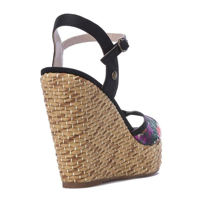 Sandales compensées Walker Orient - PEPE JEANS - NoirPepe Jeans London FDtXOi