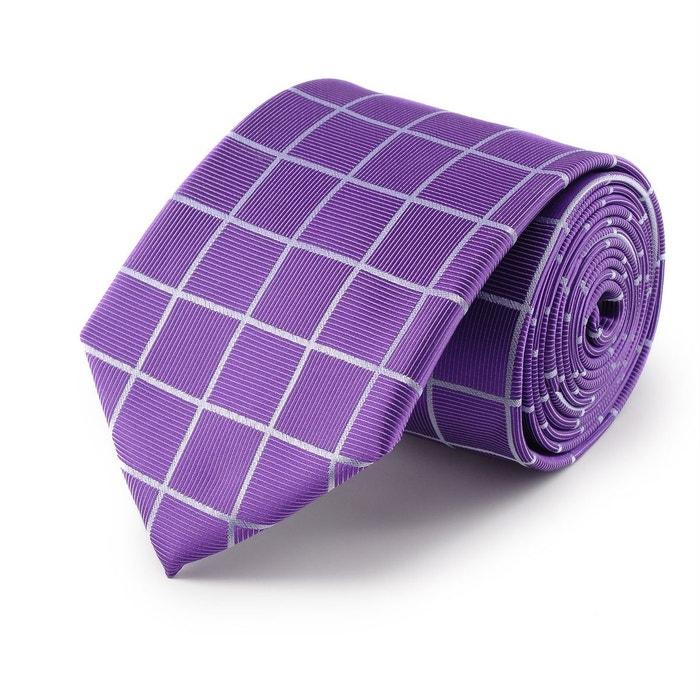 Très À Vendre Cravate quadrillage violet violet Virtuose | La Redoute Large Éventail De La Vente En Ligne Payer Avec Paypal À Vendre Nice Pas Cher En Ligne XI3CWS