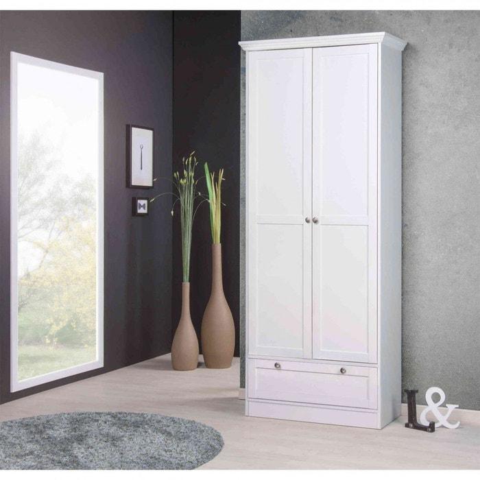 meuble chaussures blanc 18 paires mc7006 blanc terre de nuit la redoute. Black Bedroom Furniture Sets. Home Design Ideas