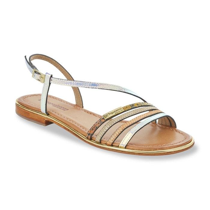 Sandales cuir holidays multicolore Les Tropeziennes Par M Belarbi