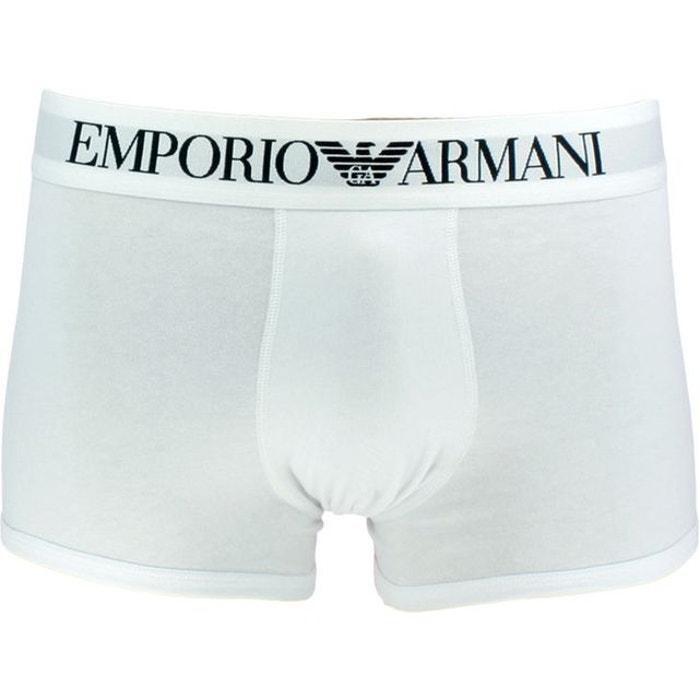 7416bb84e90 Boxer logo ceinture armani blanc pour homme blanc Emporio Armani ...