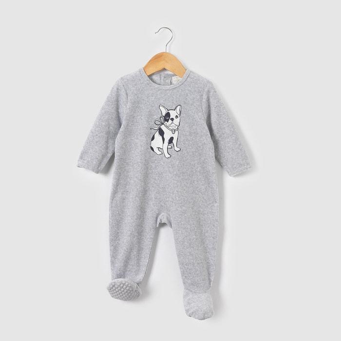 """afbeelding Pyjama """"hond"""" LADURÉE in fluweel R mini"""