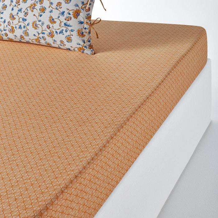 Lenzuolo con angoli in puro cotone lavato INDIAN FLOWER  La Redoute Interieurs image 0