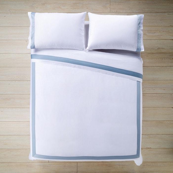 parure de lit housse de couette en satin banded sateen el corte ingles la redoute. Black Bedroom Furniture Sets. Home Design Ideas
