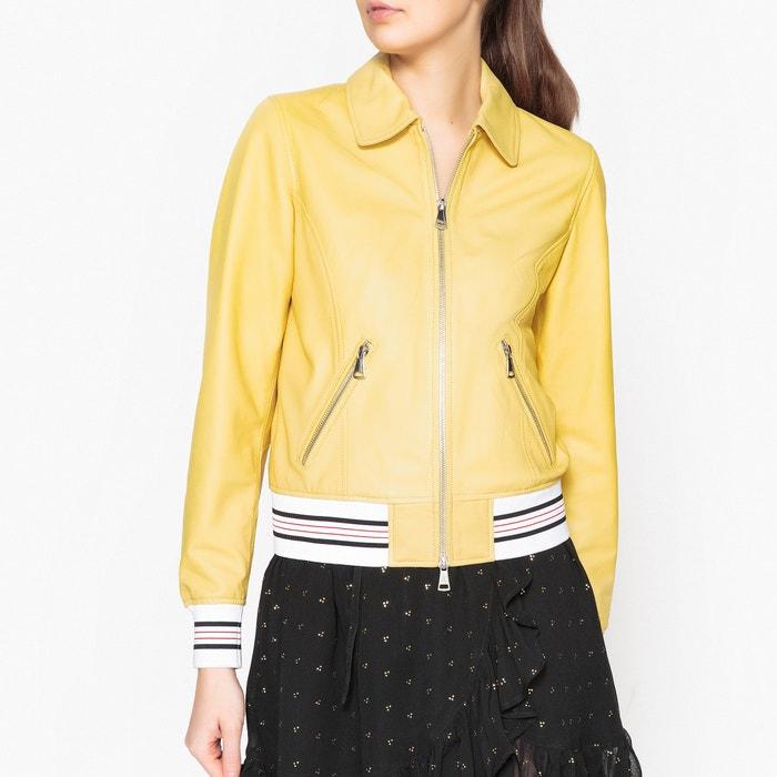 Vista Zip-Up Leather Jacket  OAKWOOD image 0