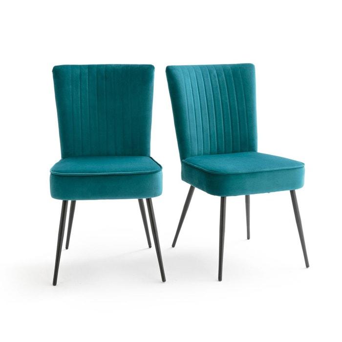 chaise r tro style 50 s lot de 2 ronda la redoute. Black Bedroom Furniture Sets. Home Design Ideas