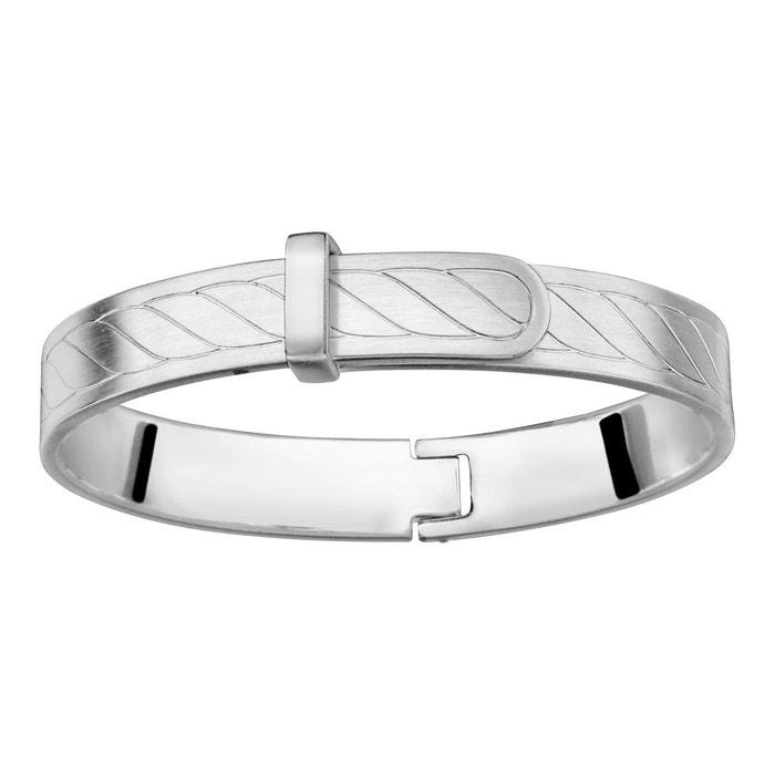 Bracelet articulé satiné acier inoxydable couleur unique So Chic Bijoux | La Redoute